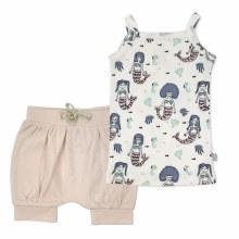Finn + Emma Organic Cotton Cami & Shorts Set Mermaids