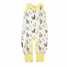 F+E Playsuit Sloth 6-12m