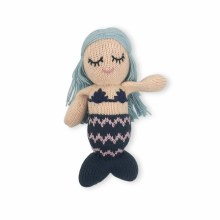 Finn + Emma Organic Cotton Rattle Buddy Penelope the Mermaid