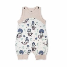 Finn + Emma Organic Cotton Romper Mermaids