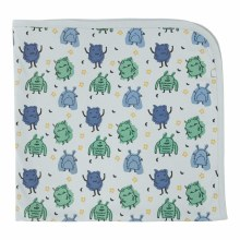 Finn + Emma Organic Cotton Swaddle Monsters
