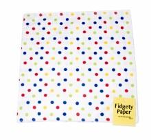 Fidgety Paper Large - Polka Dot