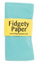 Fidgety Paper Small - Turquoise