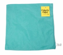 Fidgety Paper Large - Turquoise