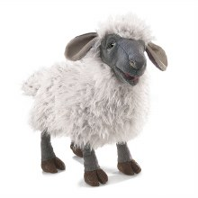 Folkmanis Bleeting Sheep Puppe