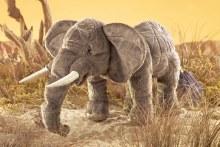 Folkmanis Hand Puppet - Elephant