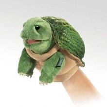 Folkmanis Little Turtle Puppet