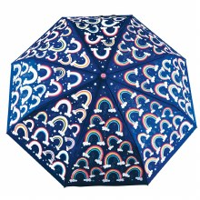 Floss and Rock Colour Changing Big Kid Umbrella Rainbow