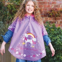 Floss and Rock Colour Changing Poncho Fairy Unicorn