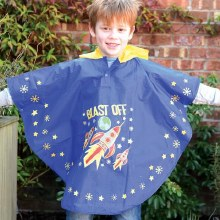 Floss and Rock Colour Changing Poncho Rocket Space