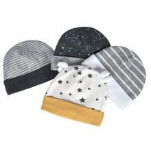 4-Pack Organic Cotton Lil' Lion Hats