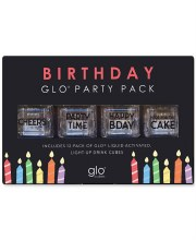Light-Up Drink Cubes Birthday Pack