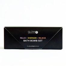 Glow Organics Bath Bomb Set