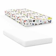 Organic Cotton & Bamboo Crib Sheets Dream Big/Snow White