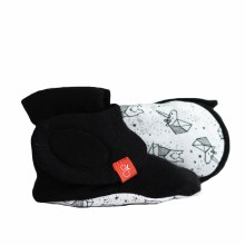 Goumikids Boots Faces In The Stars, Black 0-3 Months