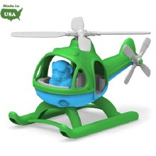 Green Toys Helicopter Green