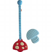Haba Clutching Toy & Clip Mushroom