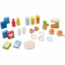 Haba Dollhouse Kitchen Accessories