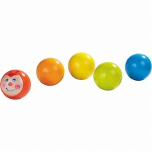 Haba My First Ball Track - 5 Piece Ball Set - Caterpillar