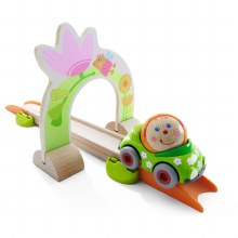 Haba Kullerbu Flower Power Arch & Car