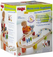 Haba My First Ball Track Large Wooden Ball Track Set