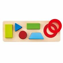 Hape Geometry Puzzle