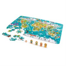 2 in 1 World Tour Puzzle Game