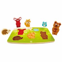 Hape Forest Animal Puzzle & Play
