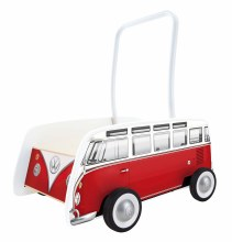 Hape Bus Walker Red