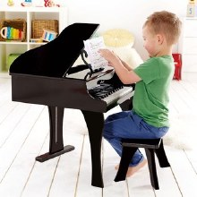 Hape Happy Grand Piano Black