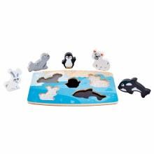 Hape Polar Animal Puzzle