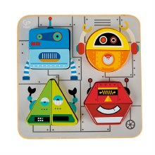 Hape Robot Sort and Stand Up Puzzle