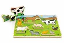 Hape Stand Up Farm Animals Puzzle