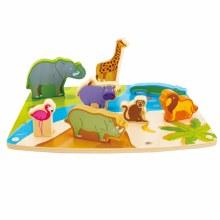 Hape Wild Animal Puzzle