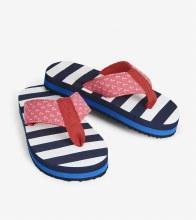 Hatley Flip Flops in Nautical Stripes