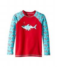 Hatley Long Sleeve Rashguard in Shorkeling Sharks