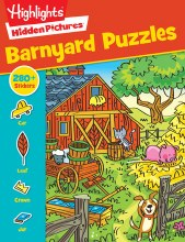 Highlights Hidden Pictures Barnyard Puzzles
