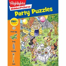 Highlights Hidden Pictures Partytime Puzzles