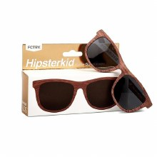 Hipsterkid Sunglasses- Wood 3-6 years