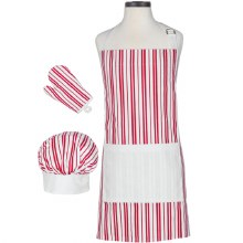 Handstand Kitchen Classic Striped Child's Apron Set