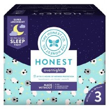 Honest Diapers Overnight Sheep Size 4