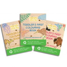 Honeysticks Coloring Book AUS