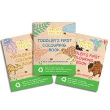 Honeysticks Coloring Book USA
