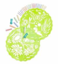 Chalkscapes Mandala Set- Butterflies and Flowers