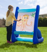 Inflatable Indoor and Outdoor Easel