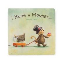 Jellycat Book I Know A Monkey