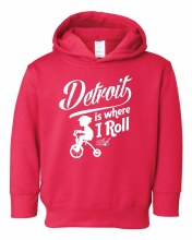 Ink Detroit Hoodie - Where I Roll 5/6T