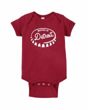 Ink Detroit Onesie - Brewed in Detroit