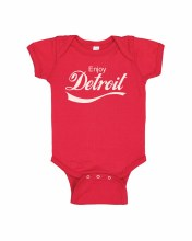 Ink Detroit Onesie - Enjoy Detroit