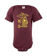 Ink Detroit Onesie - MI Sunshine 18M